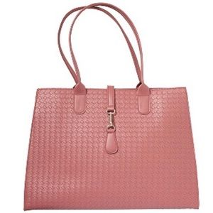 NWT Ulta Beauty Mauve/Pink/Rose Large Tote